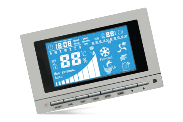 Fitur Pengontrol - Evaporative Air Cooler