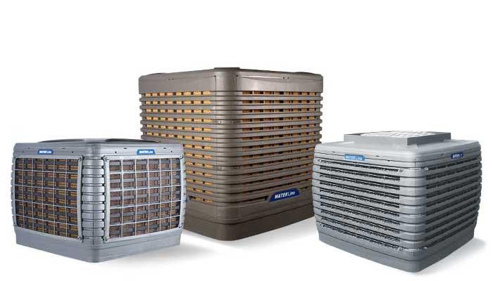 Open Space Cooler (Evaporative Cooler)